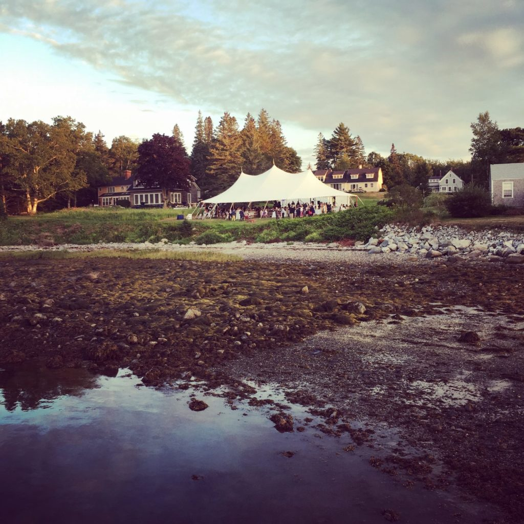 steps to consider when planning a tented wedding in maine