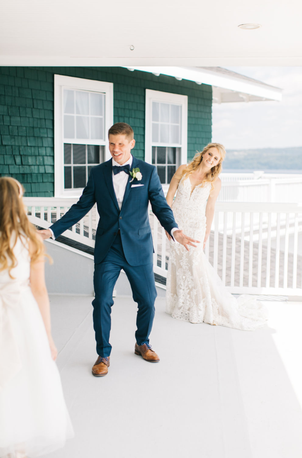 Oceanside Estate Wedding: Kristine + Andy