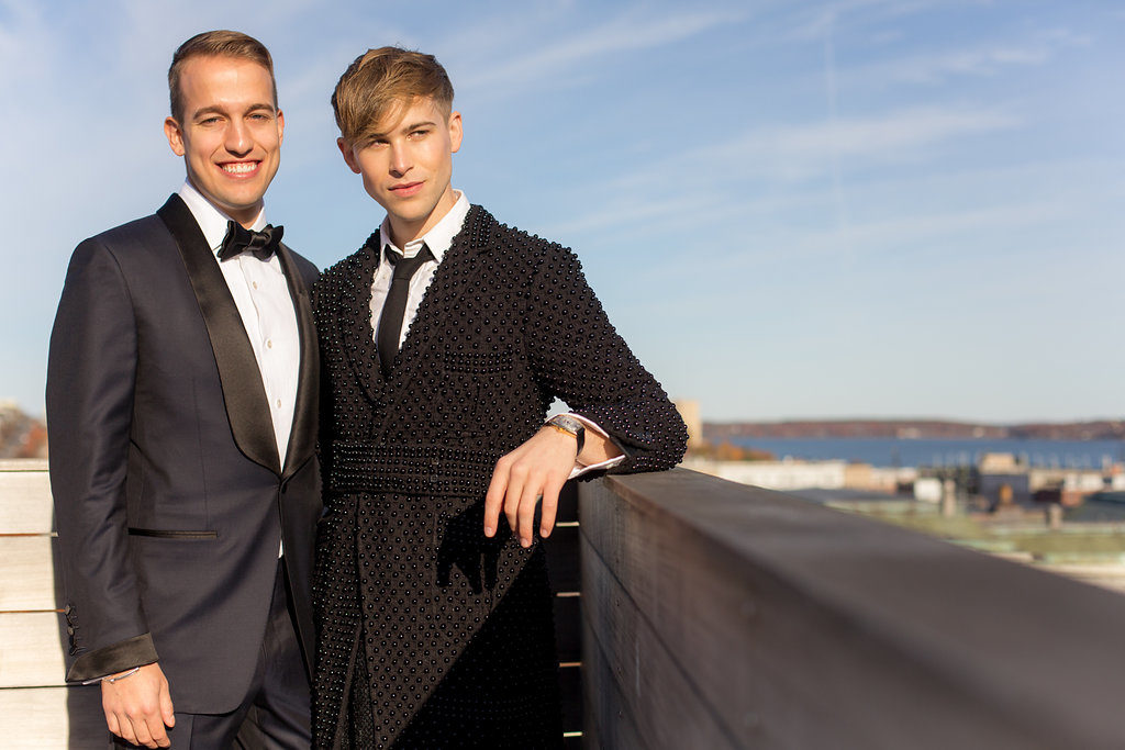 tommy and peter, destination wedding from new york