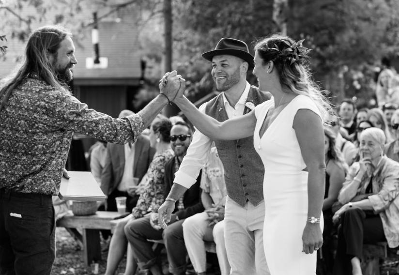 Camp Wedding: Ben + Cambria