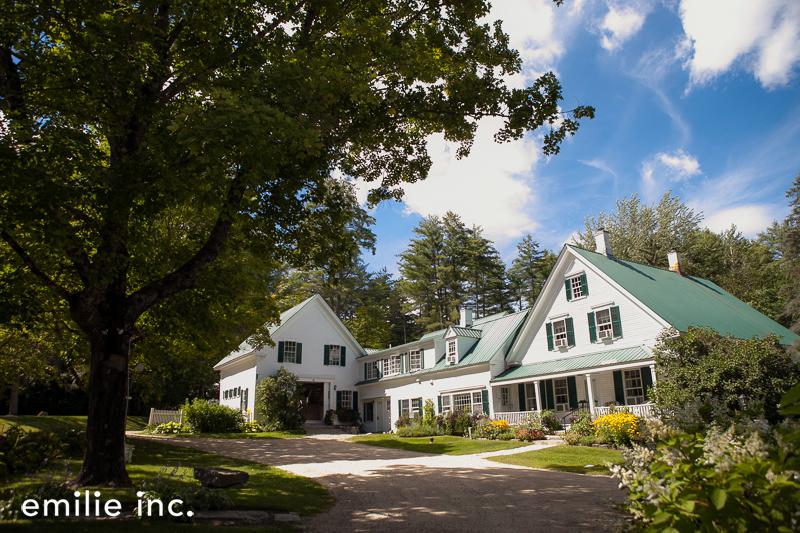 maine wedding venues: farms + barns