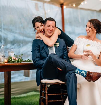 Best Friend Goals at Weddings